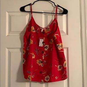 Maurice's NWT Size L Floral Tank